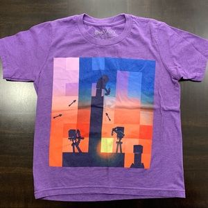 MOJANG 2016 Official Minecraft Short Sleeve Shirt